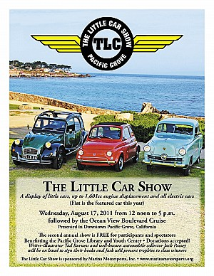 2011 The Little Car Show Poster