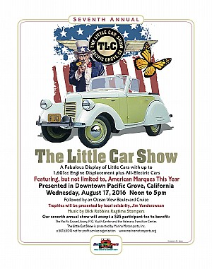 2016 The Little Car Show Poster