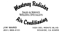 Monterey Radiator Air Conditioning
